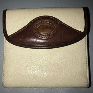 Dooney & Bourke Wallet Vintage Cream Brown